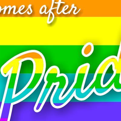 "Our ""What comes after Pride"" flyer"